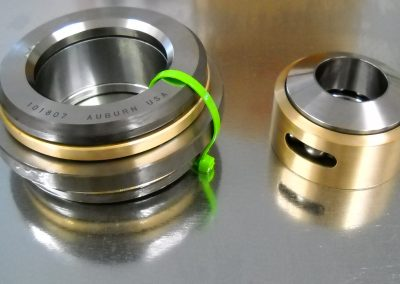 Custom Double Direction Inner Banded Ball Thrust Bearing with Bronze Retainer for Fiat Aircraft Engine