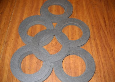 Custom Material Friction Washers