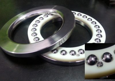 Custom Miniature and Large Bearing Retainer