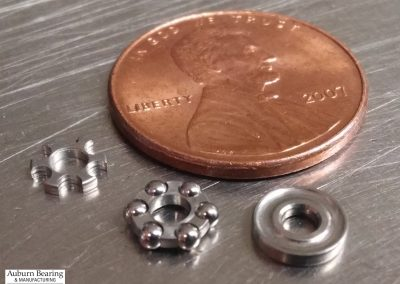Precision Thrust Ball Bearing for Medical Device