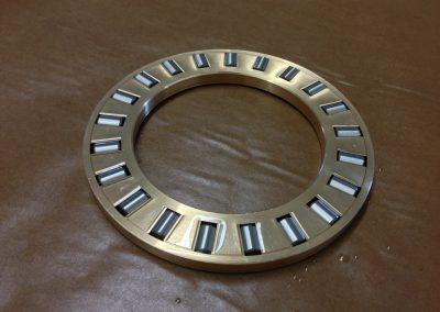Custom Two-Piece Brass Thrust Roller Bearing