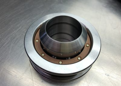 Self Aligning Thrust Bearing with Phenolic Cage for Swiss Machine Tool