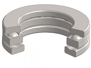 2913 Thrust Ball Bearing