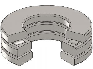 AE-45S Cylindrical Thrust Roller Bearing