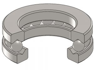 T-101-26 Thrust Ball Bearing
