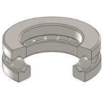 T-101 Thrust Ball Bearing Series