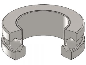 T-114-33 Thrust Ball Bearing